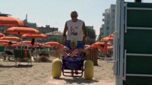 spiaggia attrezzata per disabili a Rimini in Romagna job