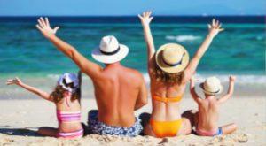 spiaggia per famiglie a Rimini in Romagna